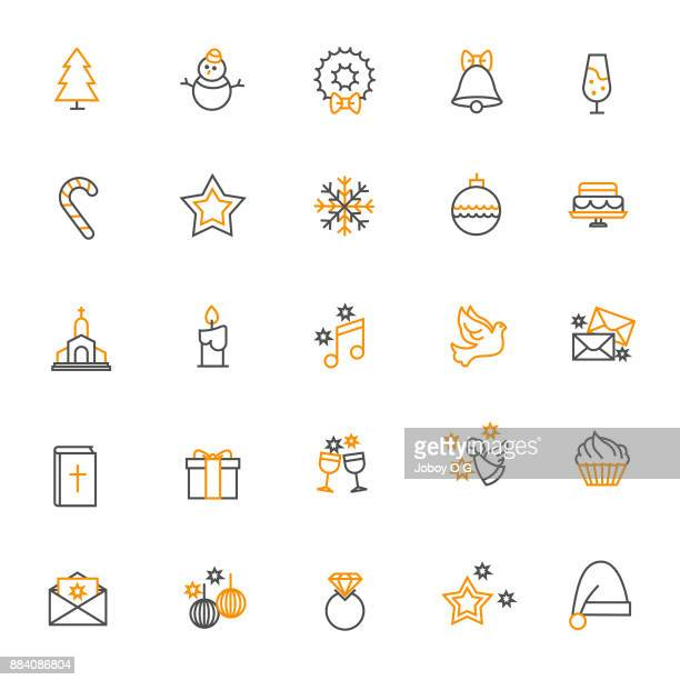 christmas icon - candle stock illustrations