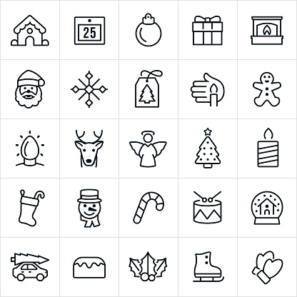 Christmas Icons - gettyimageskorea