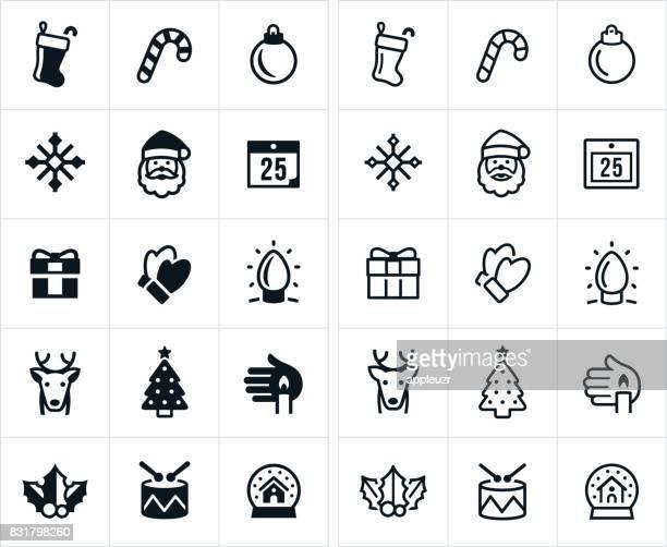Weihnachts-Symbole