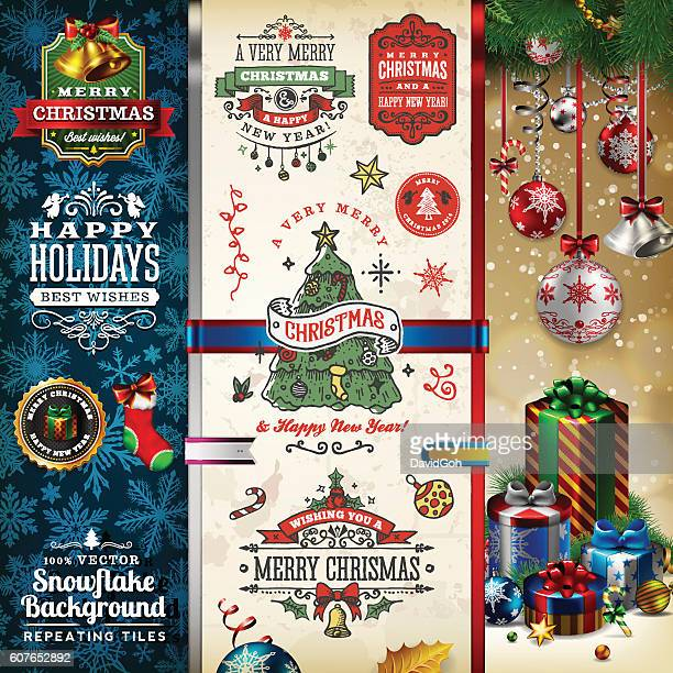 Christmas Labels & Badges Toolset