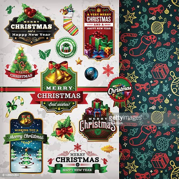 Christmas Labels & Badges Toolset
