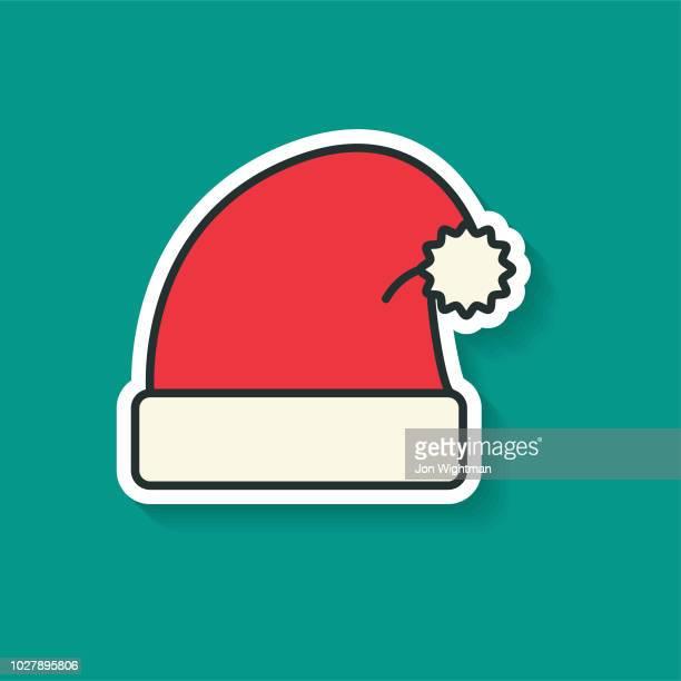 Christmas Line Icon Christmas Santa Hat