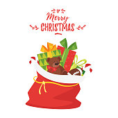 Christmas New Year greeting card
