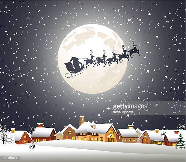 Weihnachten bei Nacht