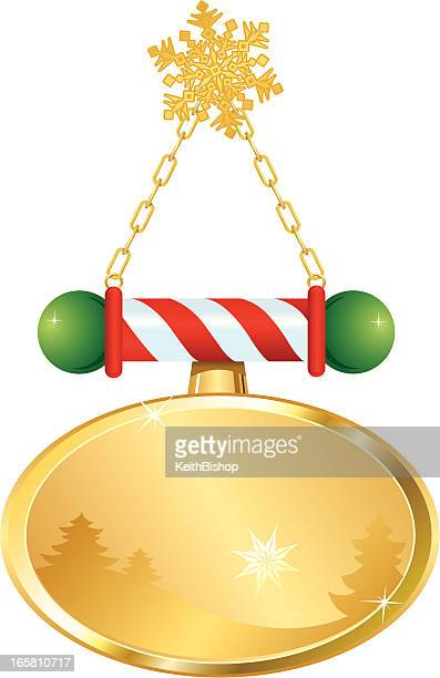 Christmas Ornament or Hanging Sign