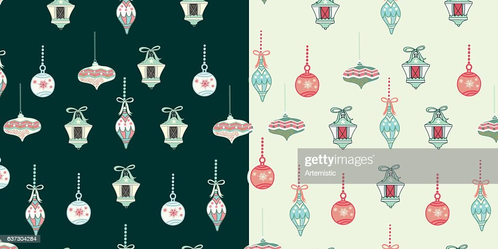Christmas ornament pattern design