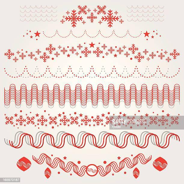 ilustrações de stock, clip art, desenhos animados e ícones de ornamentos de natal floco de neve e bolas, - capela