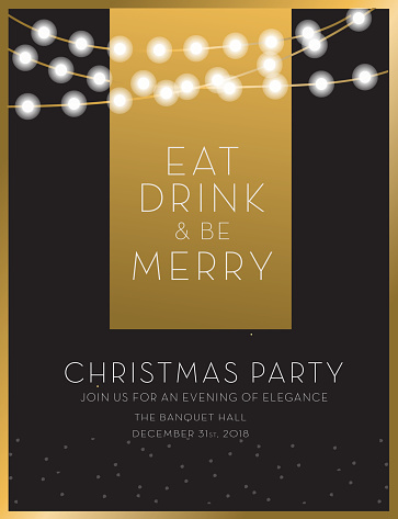 Christmas party invitation design template - gettyimageskorea