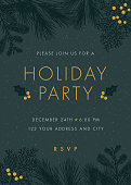 Christmas party invitation.