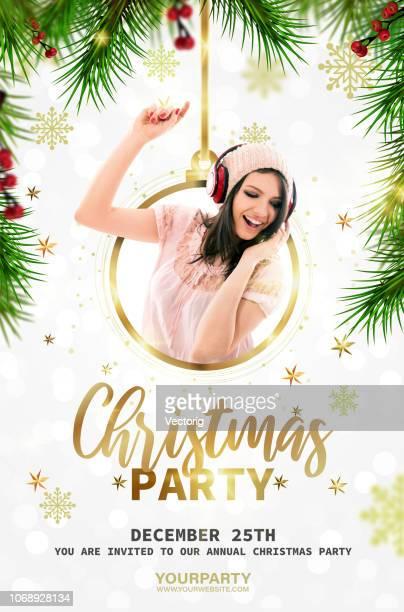クリスマス パーティー ポスター
