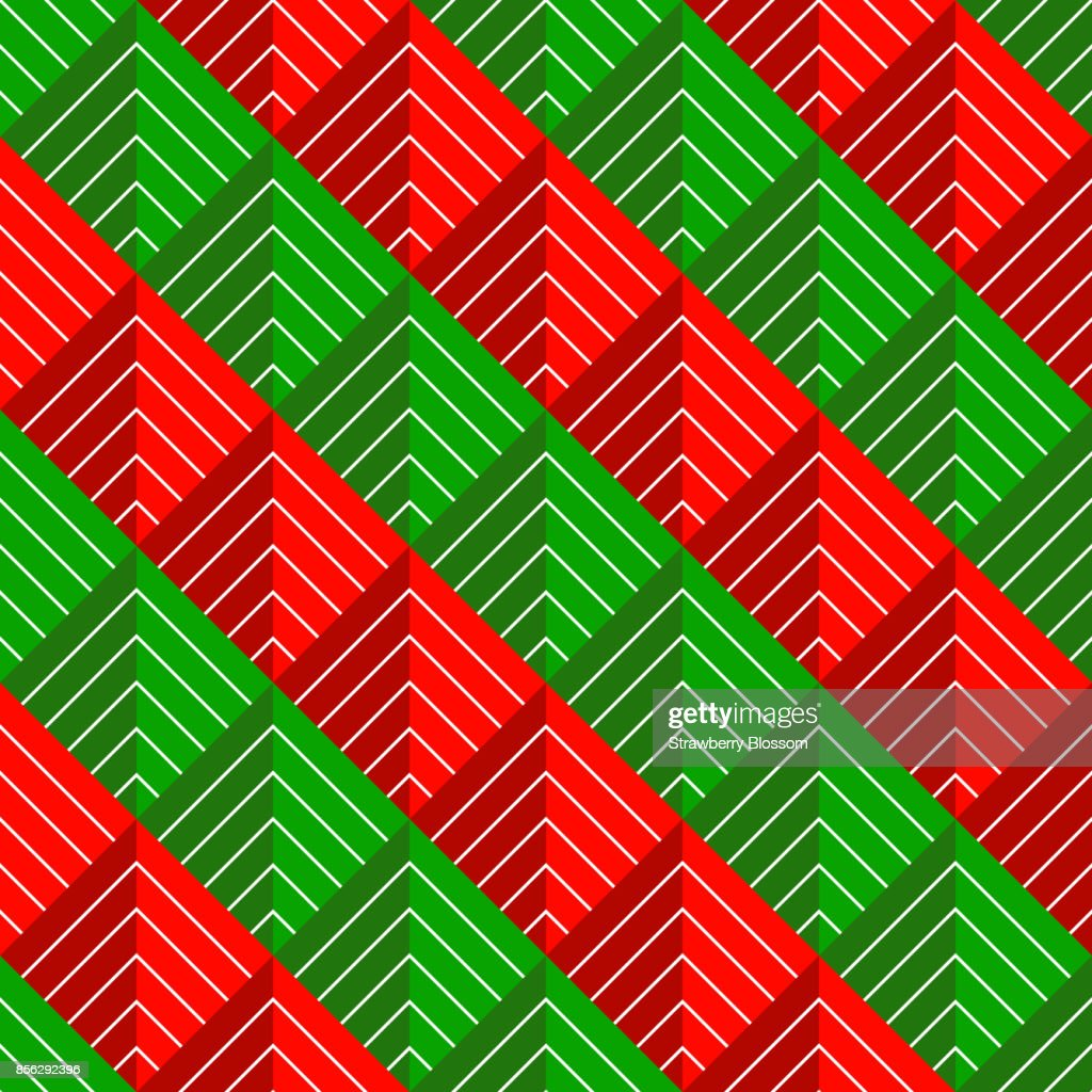christmas pattern chevron stripe seamless red green and white line colors merry christmas geometric abstract background vector gift wrap paper design for - Why Are Red And Green Christmas Colors