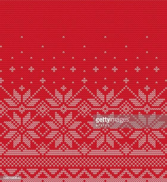 christmas pattern - christmas stock illustrations