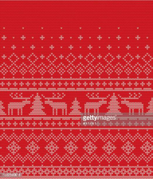 クリスマスの模様 - ジャージ素材点のイラスト素材/クリップアート素材/マンガ素材/アイコン素材