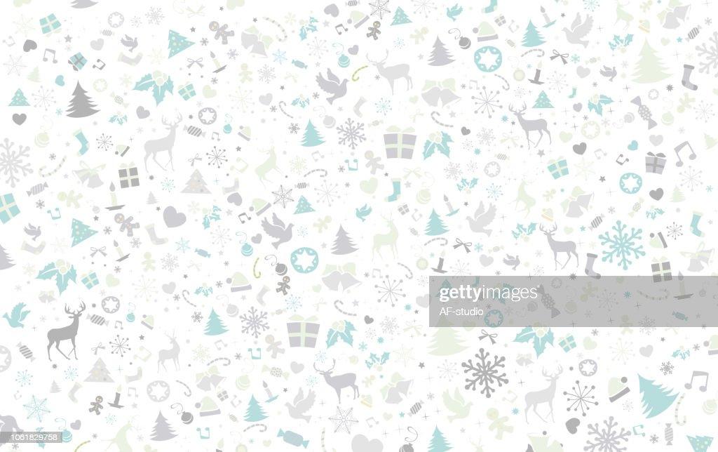 Patrón de Navidad : Ilustración de stock