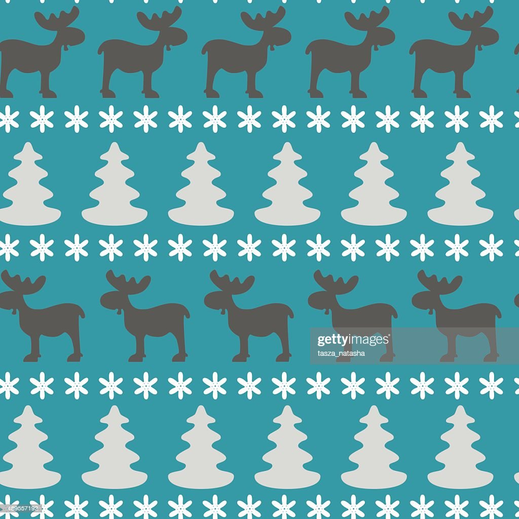 Christmas pattern.