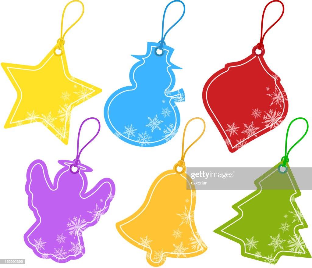 Christmas Price Tag : stock illustration