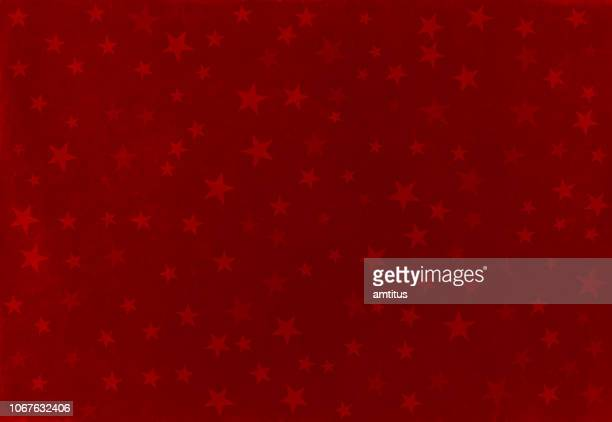 赤いクリスマスのパターン