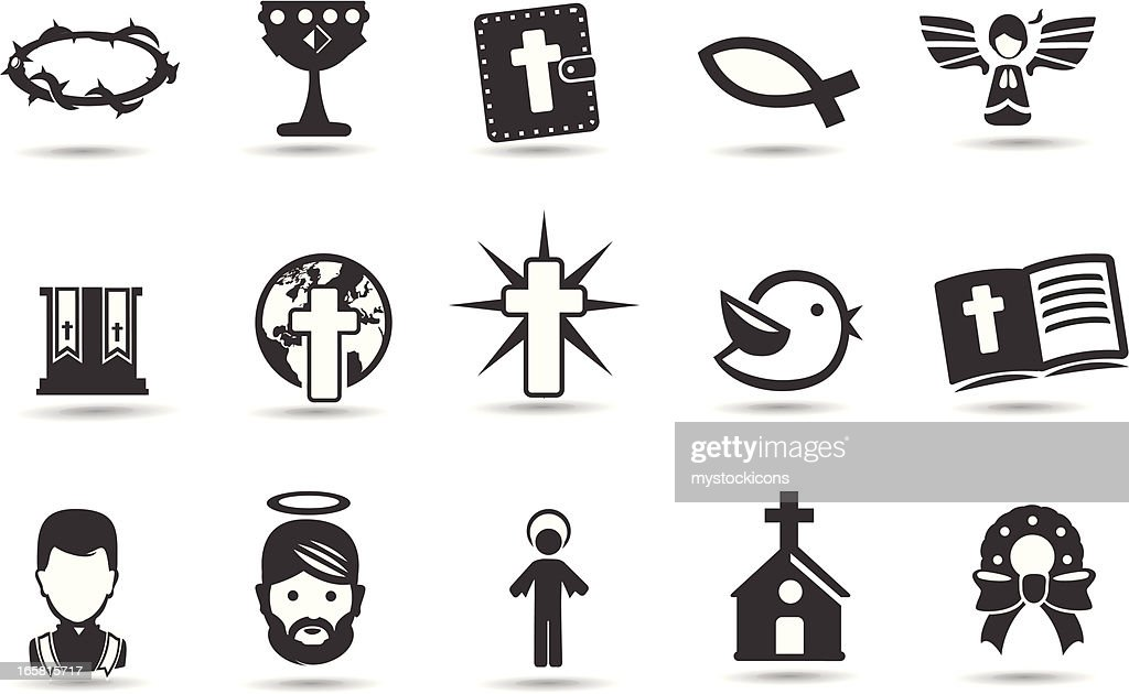 Christmas Religious Symbols Vector Art Getty Images