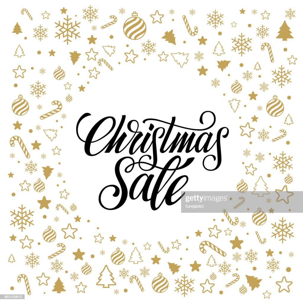 Christmas sale gold