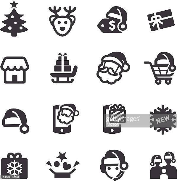 Christmas Sale Icons - Acme Series