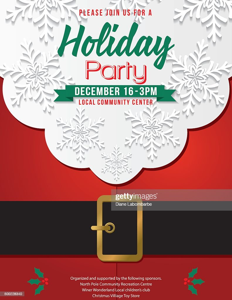 Santa Party Invitations Images - Party Invitations Ideas