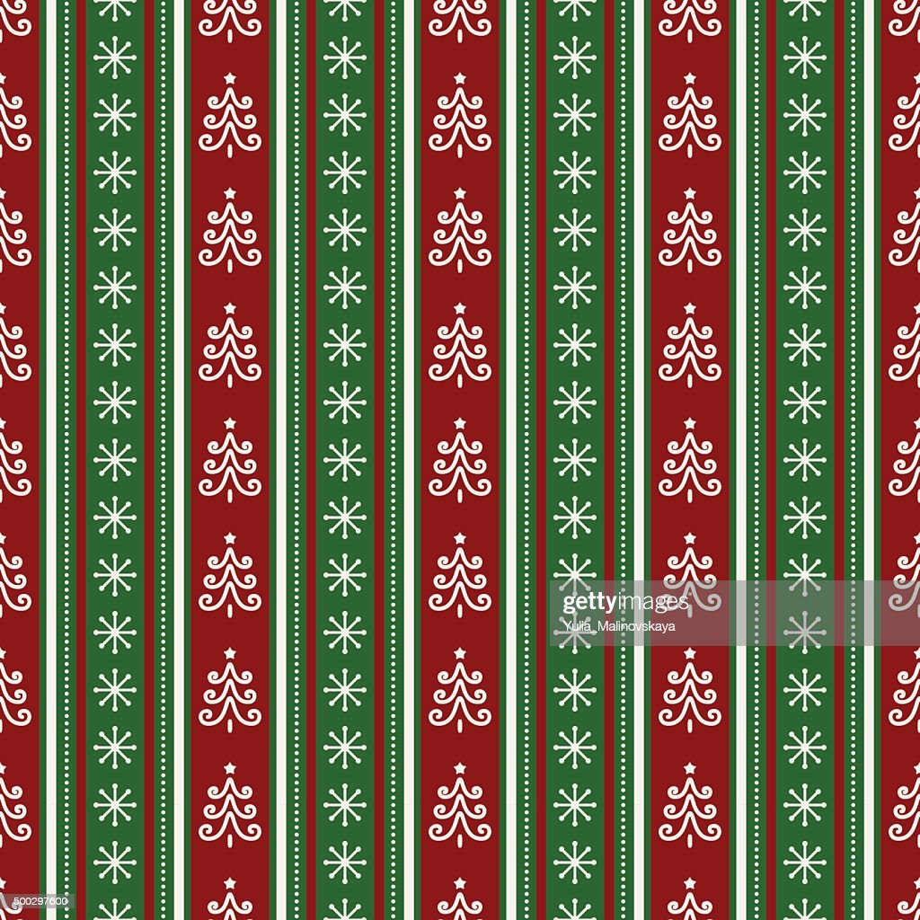Christmas seamless pattern. Vector background.