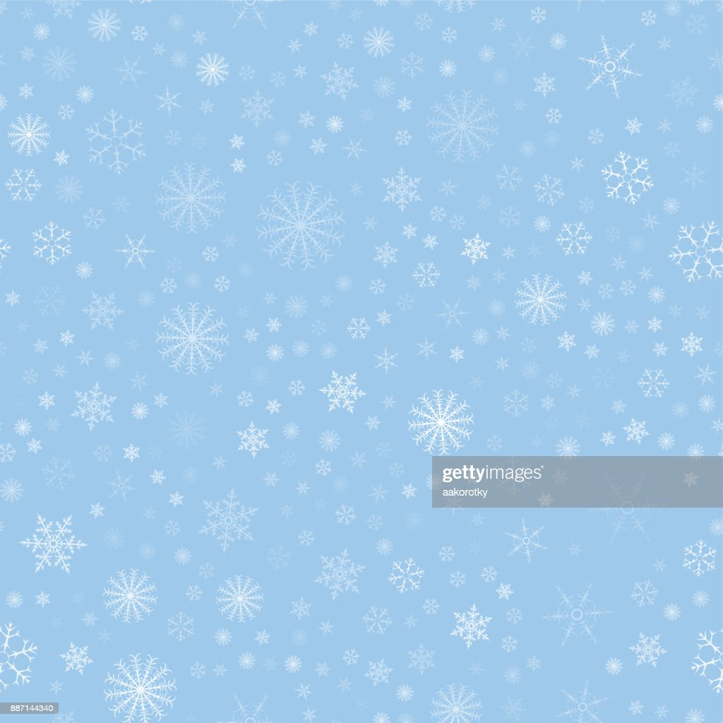 christmas seamless pattern with snowflakes abstract background