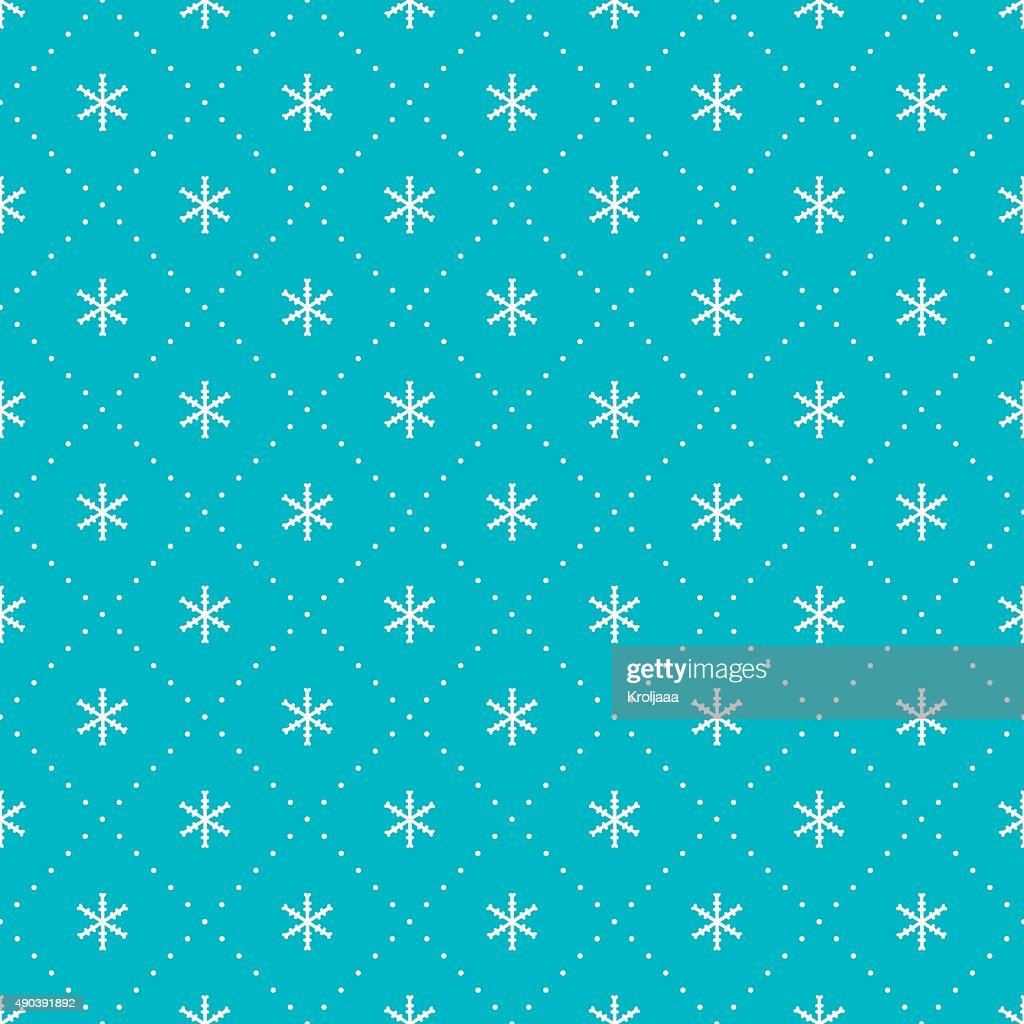 2016 Christmas season hand drawn vector seamless pattern. New Year.