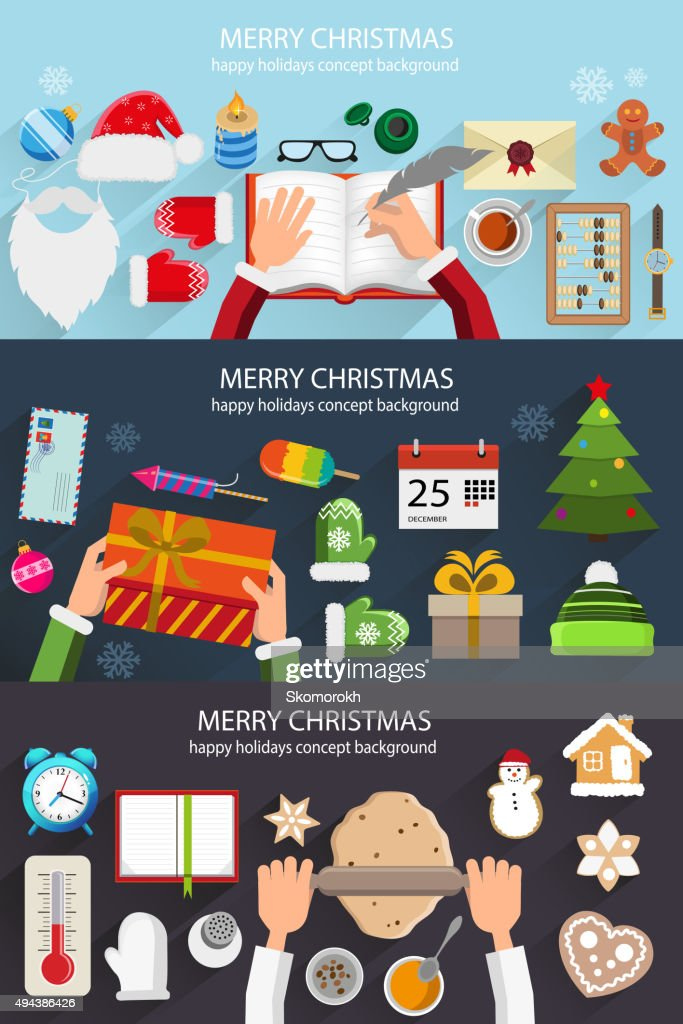 Christmas situation backgrounds