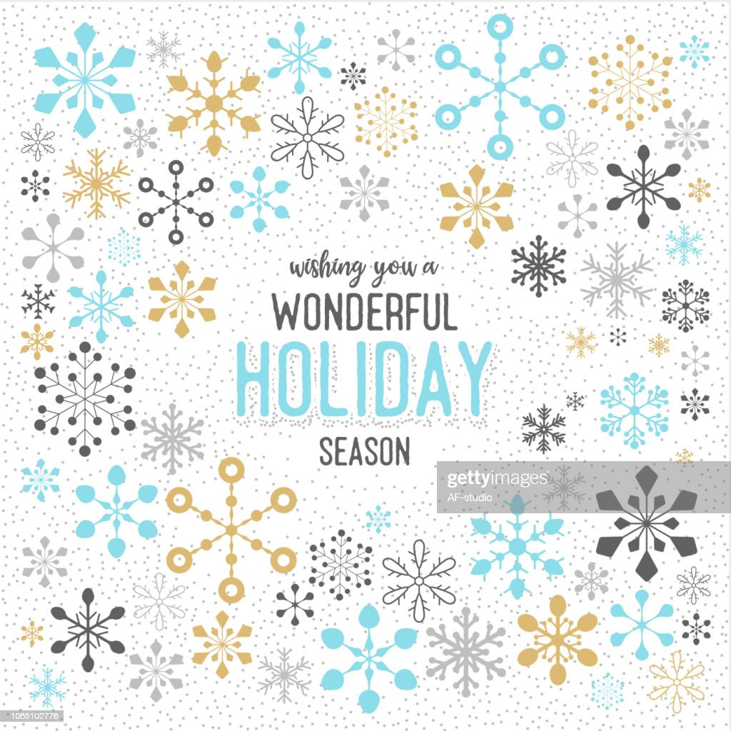 Christmas Snowflake Pattern : stock illustration