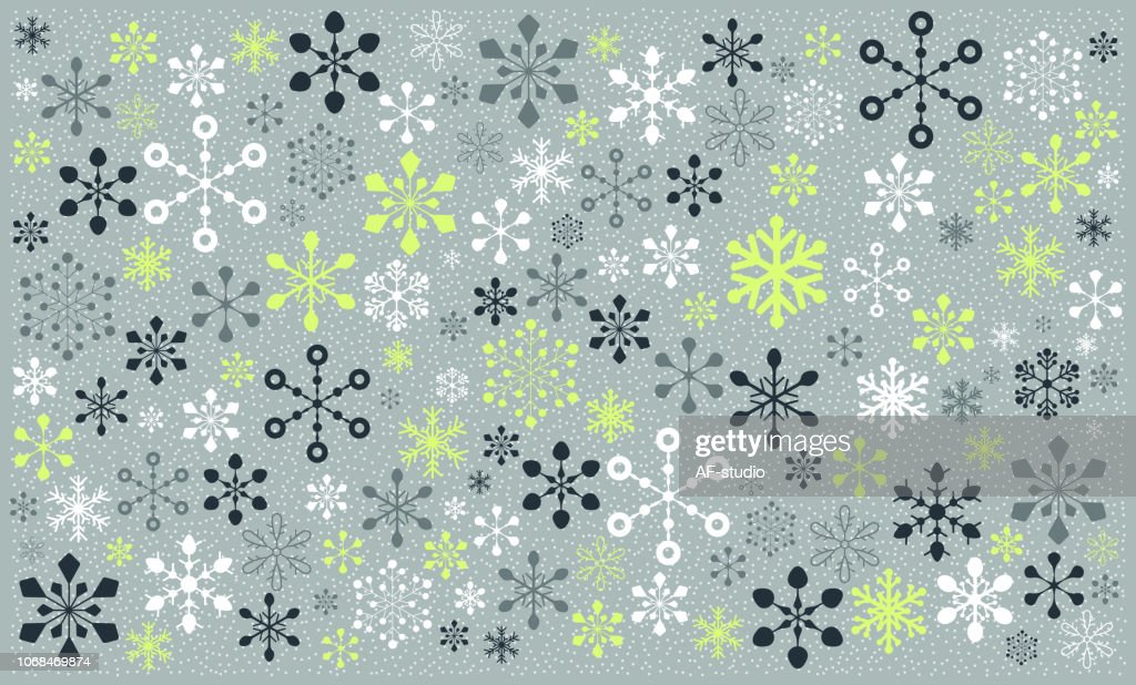Christmas Snowflake Pattern : stock vector