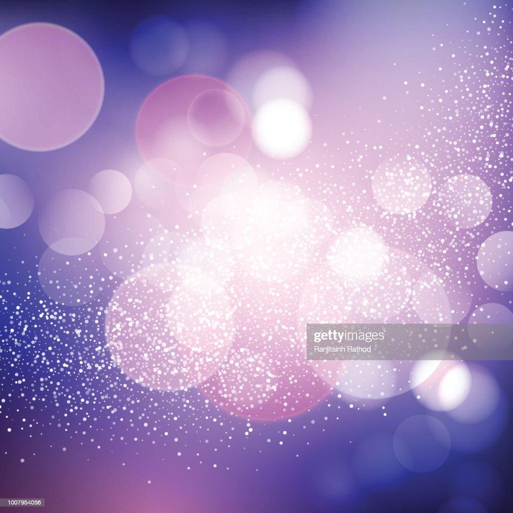 christmas sparkle lights background vector art