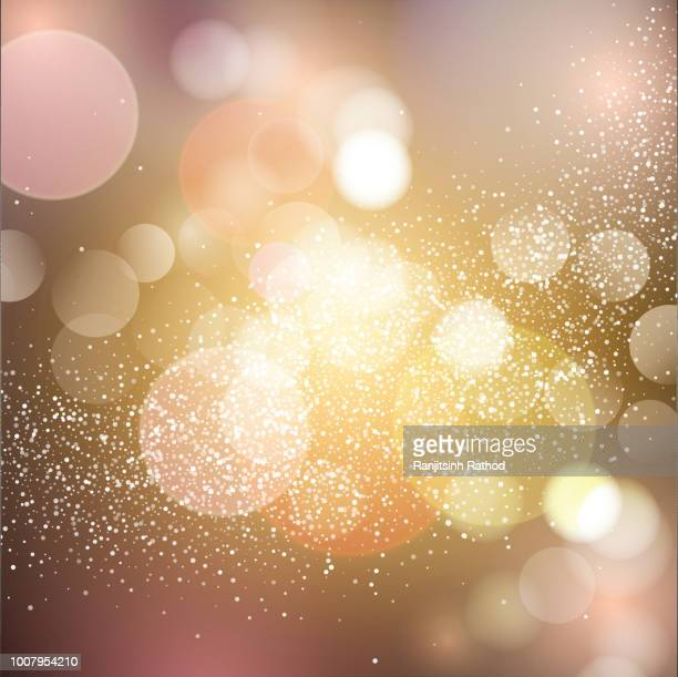 christmas sparkle lights background - sparks stock illustrations, clip art, cartoons, & icons