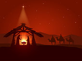 Christmas star and the birth of Jesus
