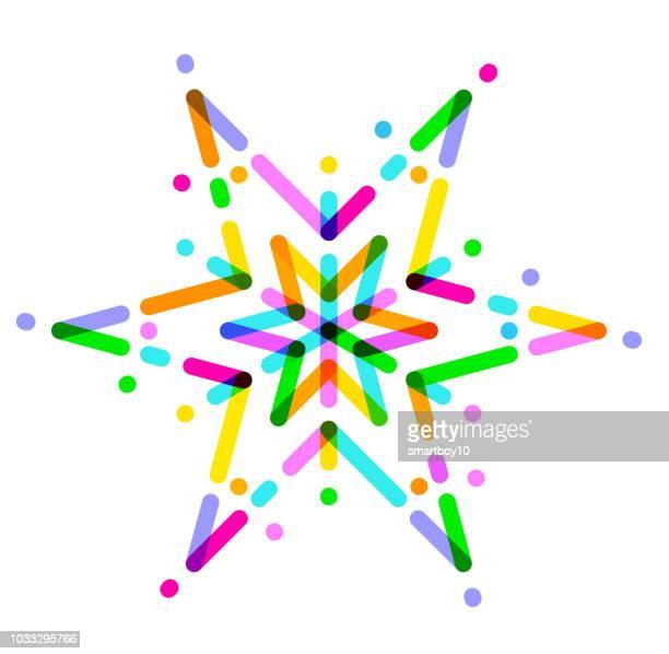 christmas star - north star stock illustrations
