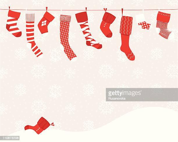Christmas Stockings (Horizontal)