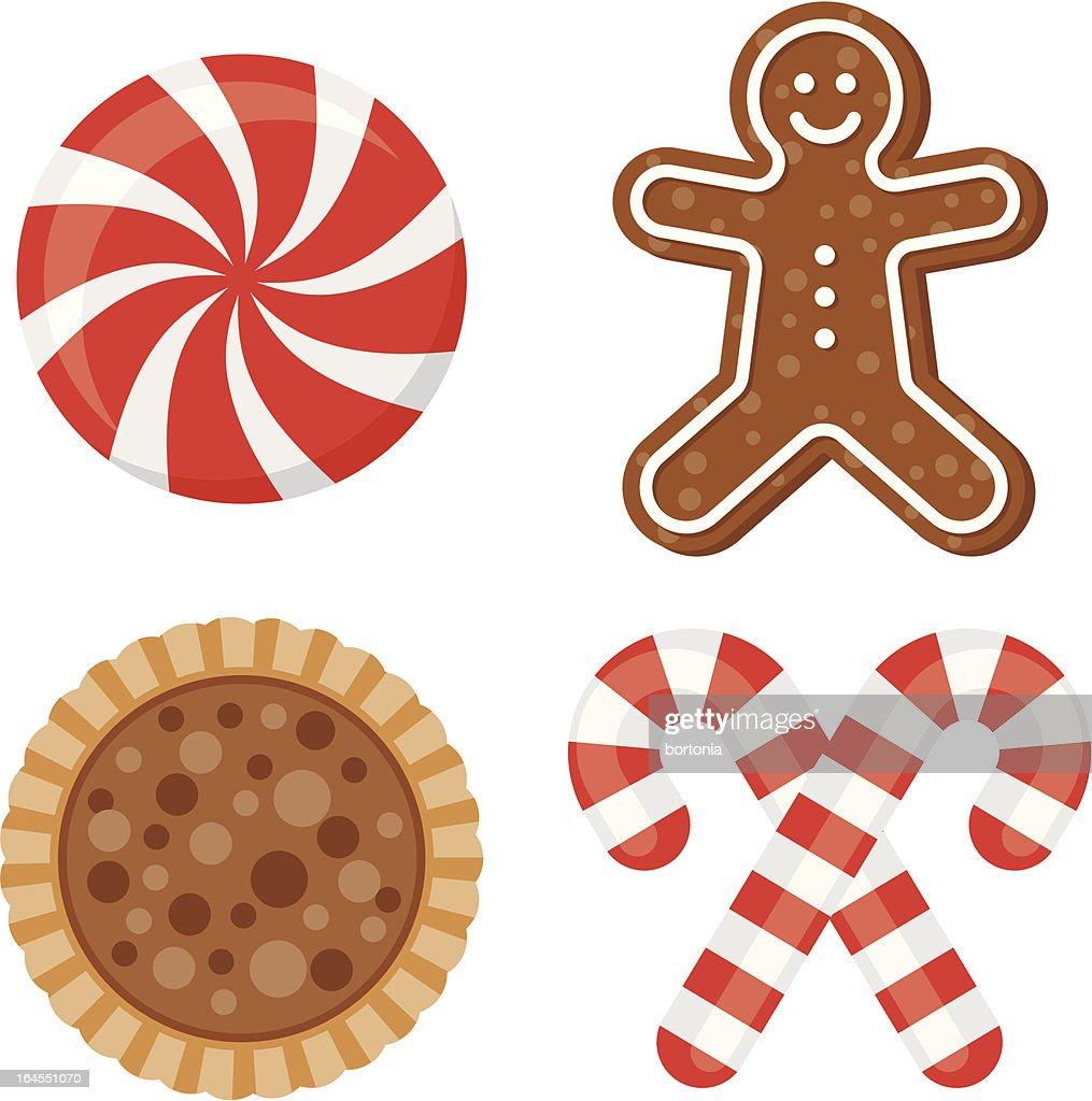 Doces de Natal : Ilustração