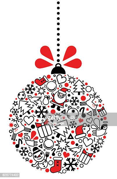 christmas symbol - gift tag note stock illustrations, clip art, cartoons, & icons