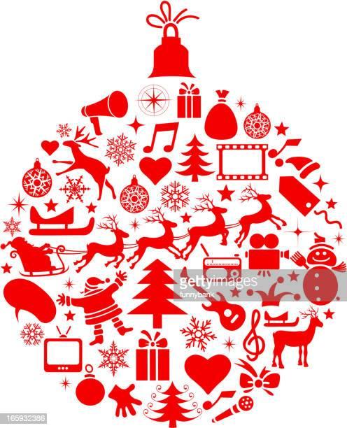 christmas symbols - gift tag note stock illustrations, clip art, cartoons, & icons