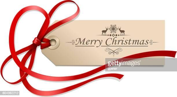 クリスマスのタグ - メッセージカード点のイラスト素材/クリップアート素材/マンガ素材/アイコン素材
