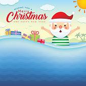 Christmas template_summer