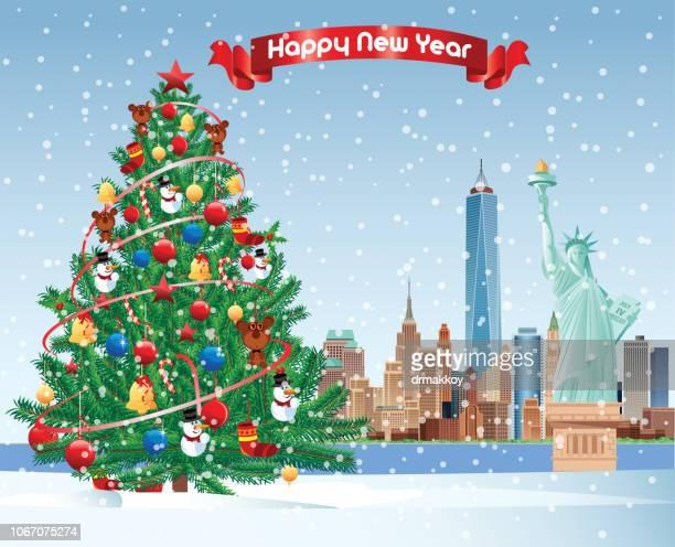 クリスマス ツリー、ニューヨーク市