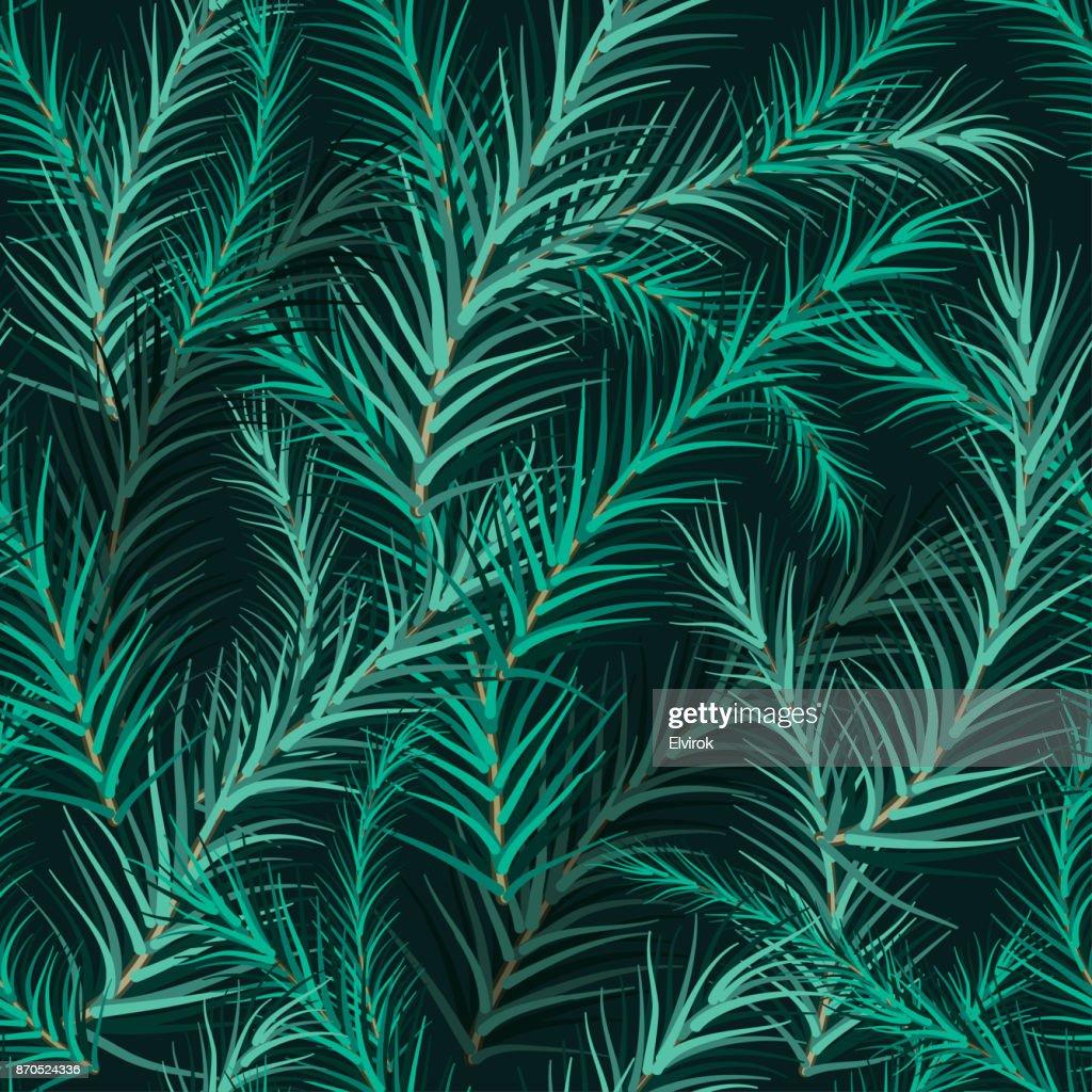 Tannenarten Weihnachtsbaum.Weihnachtsbaum Tanne Zweig Hintergrund Vektorgrafik Getty Images