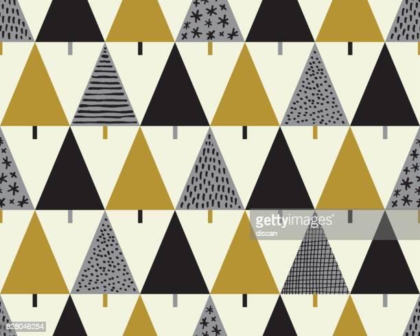 Weihnachtsbaum Musterdesign Hintergrund