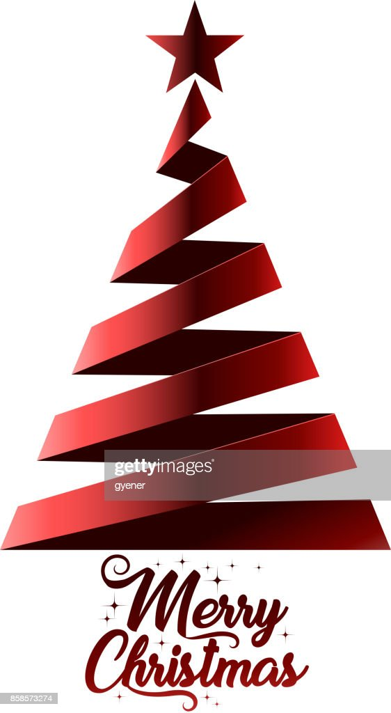 Christmas Tree Symbol Vector Art Getty Images
