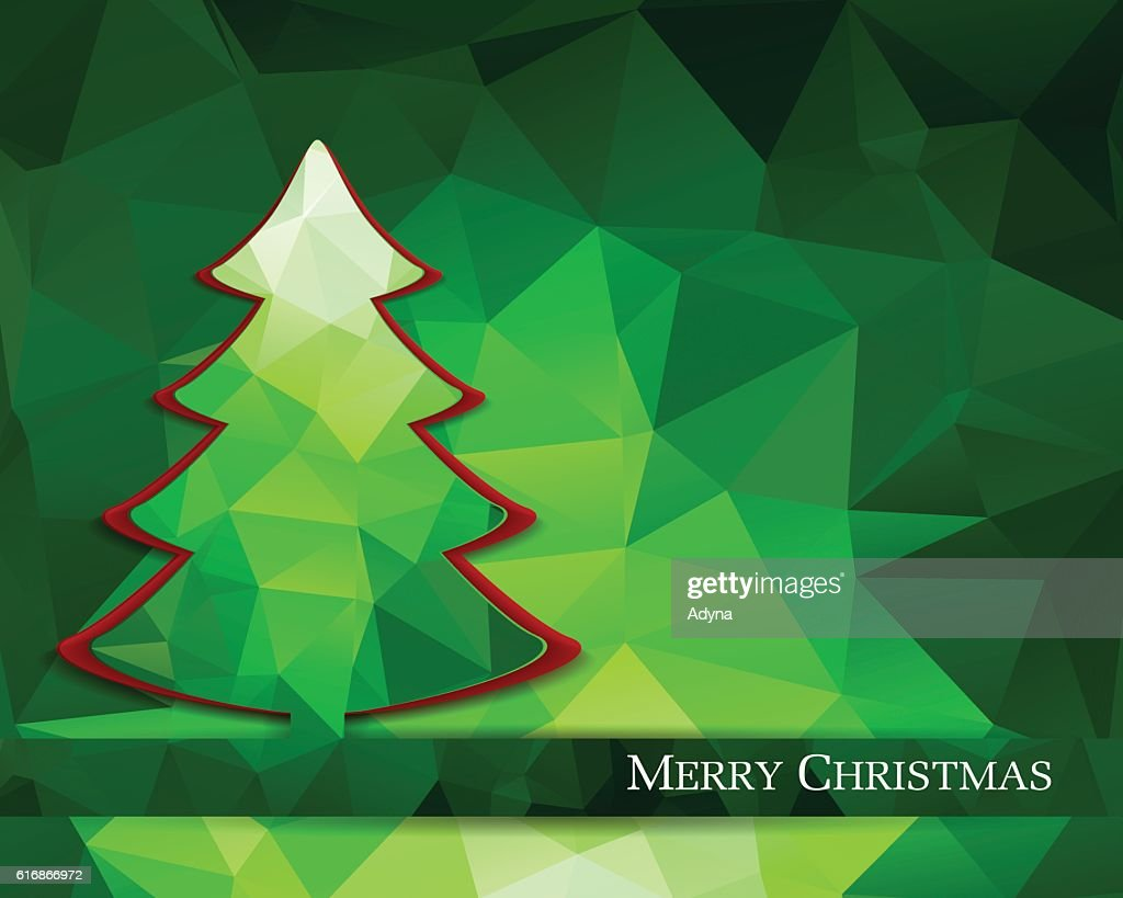 Christmas Tree : Vector Art