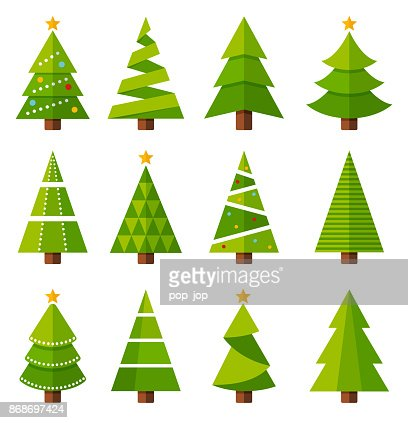 20 709 Iillustrations Cliparts Dessins Animes Et Icones De Sapin De Noel Getty Images