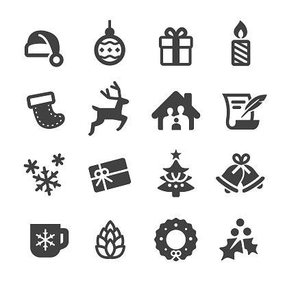 Christmas Vector Icons - Acme Series - gettyimageskorea
