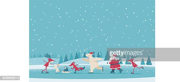 christmas - cute stock illustrations