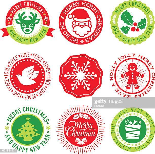 Christmas Vector Seals